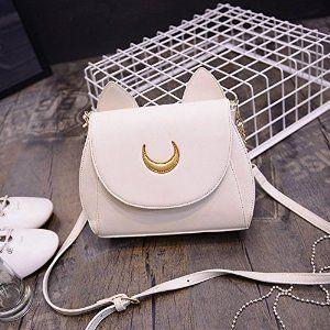 Amazon.com : Cosplay Sailor Moon 20th Tsukino Usagi PU Leather Women Handbag Shoulder Bag : Sports & Outdoors