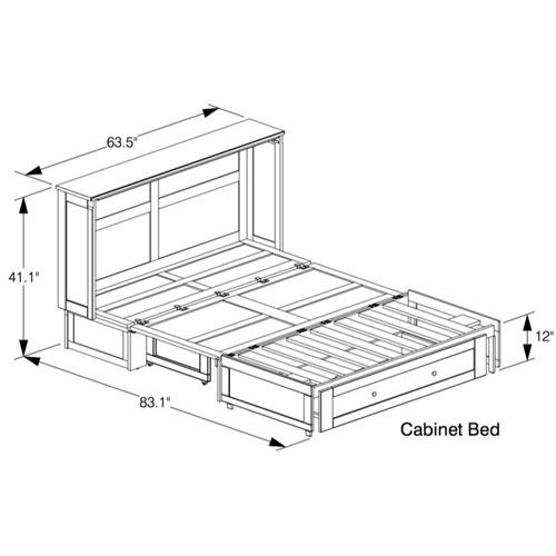 murphy bed cabinet plans. Beautiful Murphy Solid Wood Clover Murphy Bed Cabinet DNFS Throughout Plans I