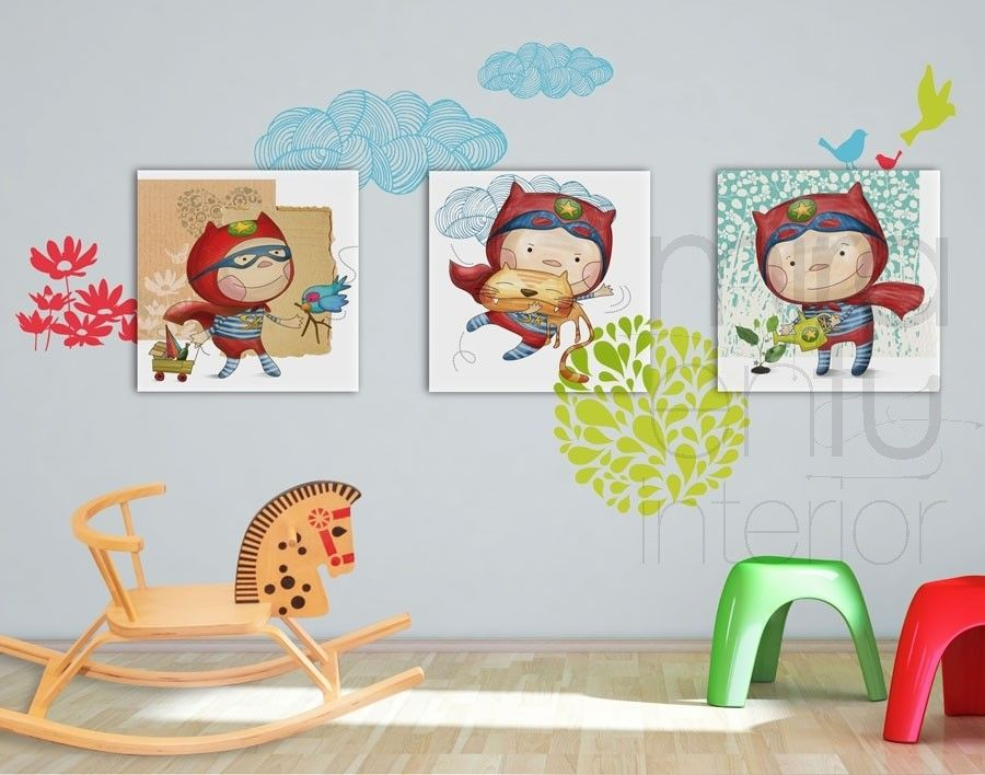 900 708 cosas de ni os pinterest cuadros - Ver habitaciones infantiles ...