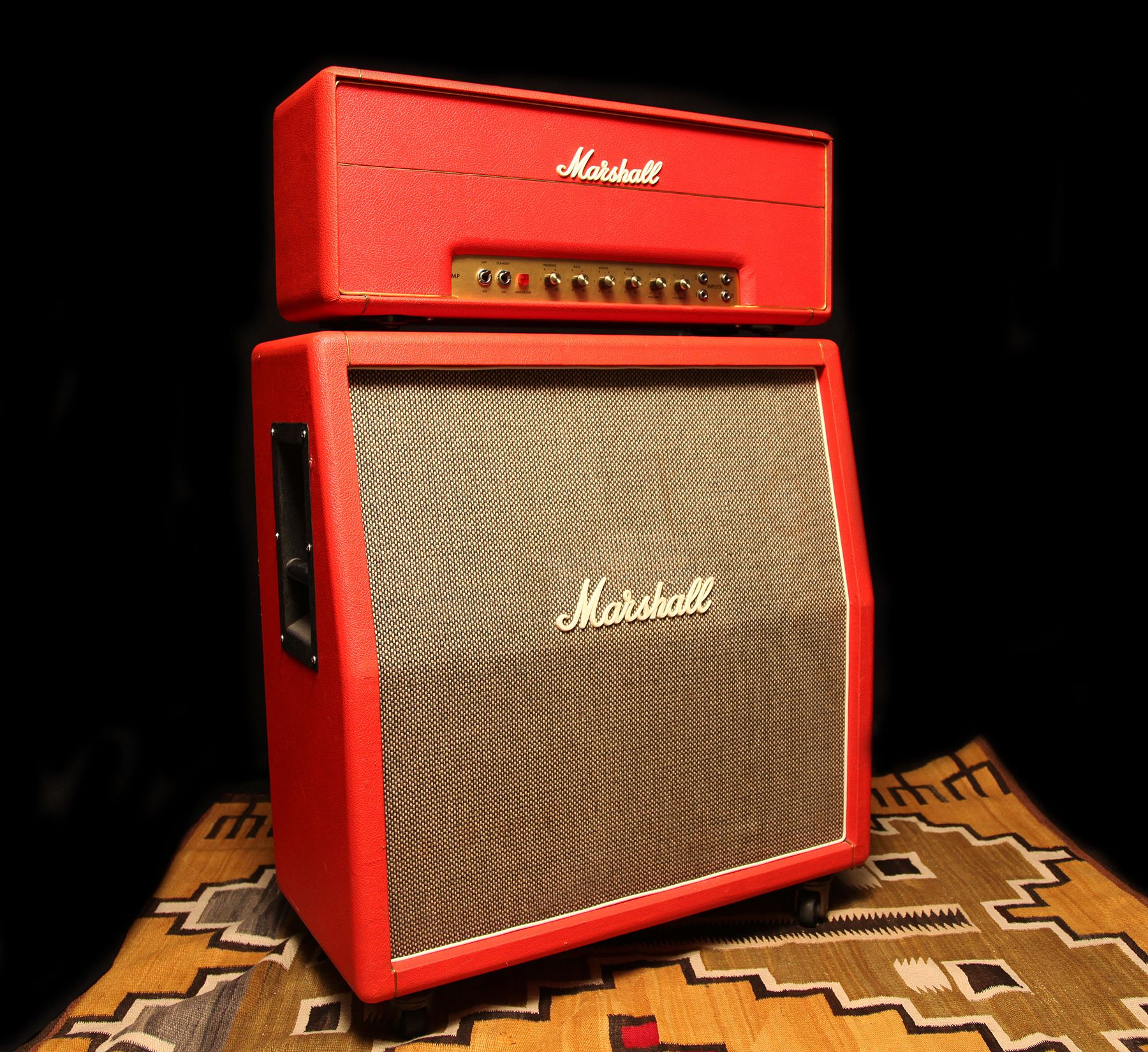 red amp stack
