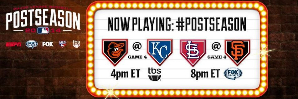 Two game 4's. One potential World Series berth. It's a big