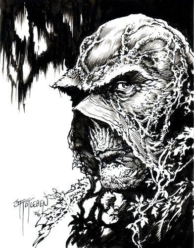 John Totleben - Swamp Thing Sketch 2006 | Swamp Thing ...