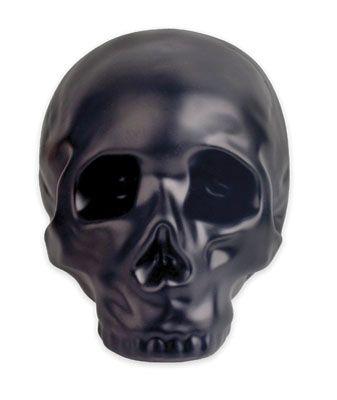 Kikkerland Design Inc » Products » Ceramic Skull Coin Bank