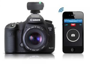 This Bluetooth Smart Trigger Turns Your Iphone Into A Canon Dslr Remote And Intervalometer Techcrunch Dslr Camera Camera Hacks Canon Dslr
