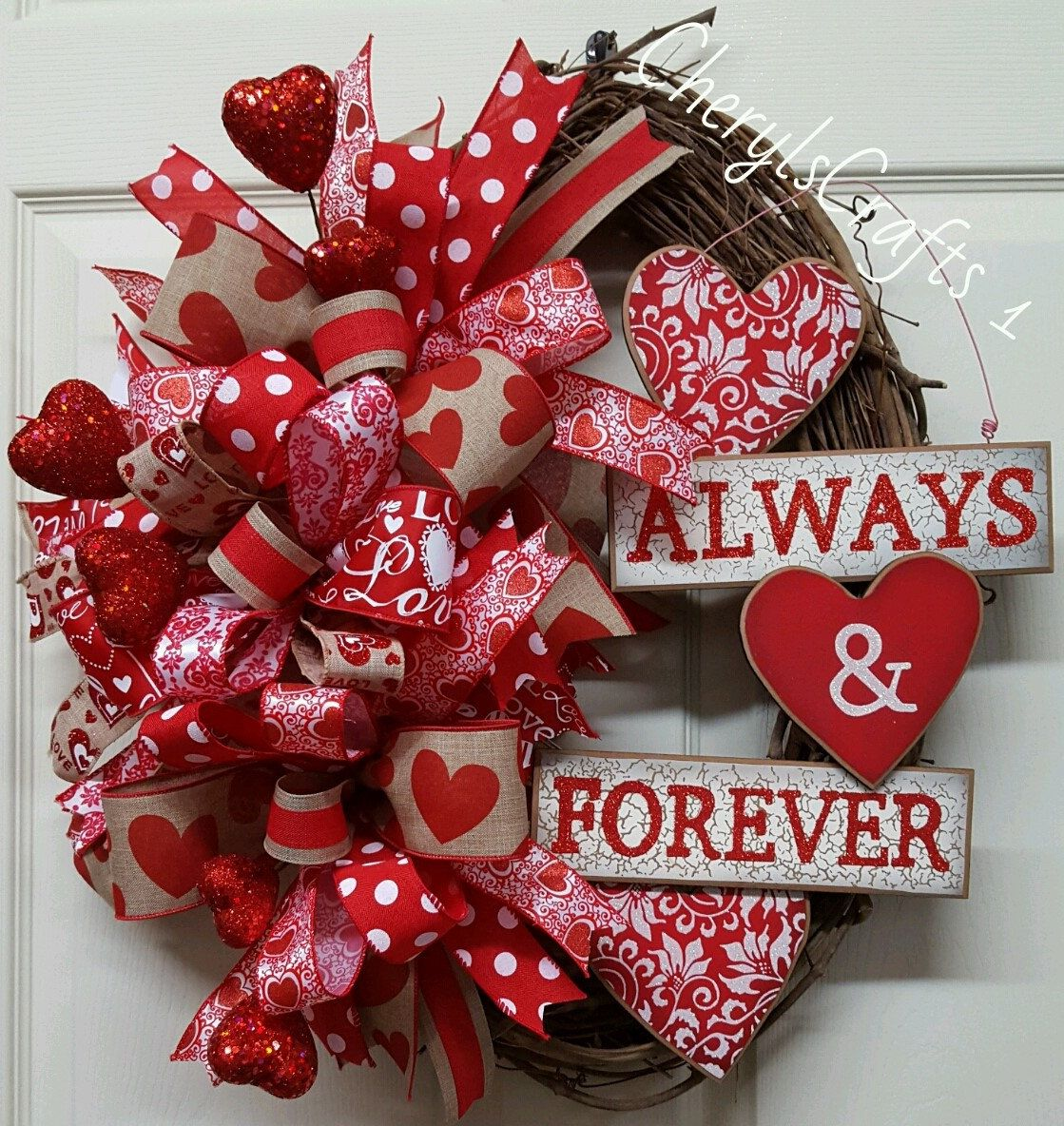 valentine wreath valentine 39 s day wreath grapevine valentine wreath valentine 39 s day grapevine. Black Bedroom Furniture Sets. Home Design Ideas