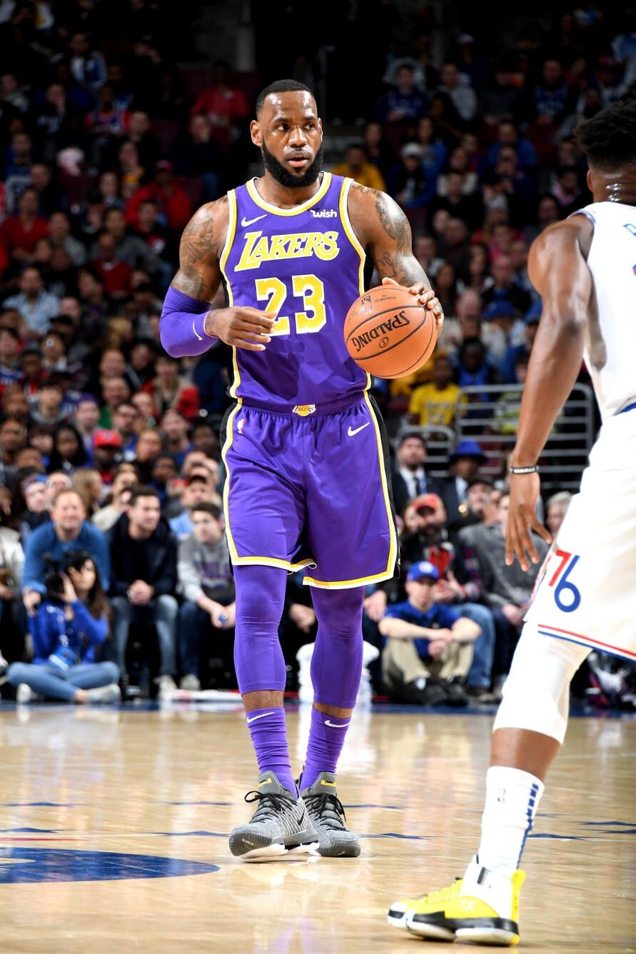 Photos Lakers At 76ers 02 10 19 Los Angeles Lakers In 2020 Los Angeles Lakers Lakers Nba Players