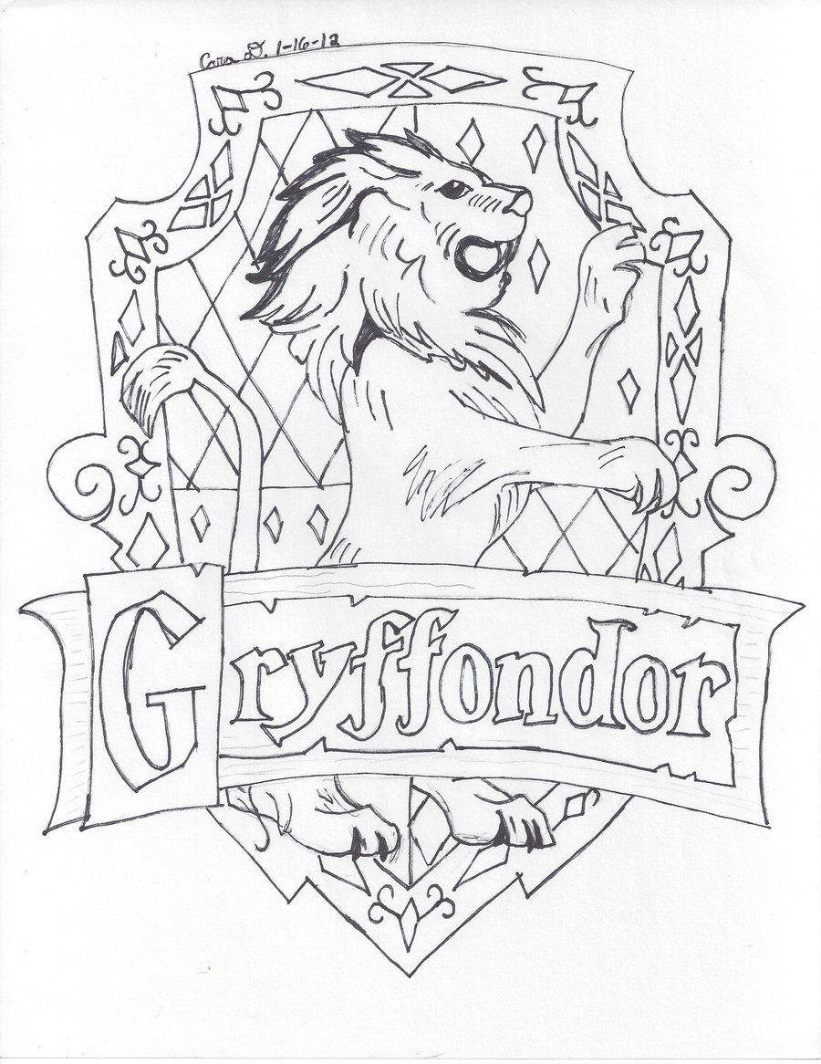 Gryffindor House by hyperlikemomiji22.deviantart.com on
