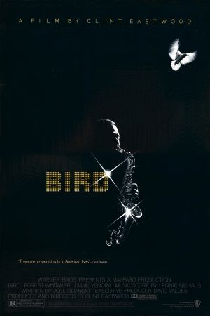 Bird - Clint Eastwood - movie poster designed by Bill Gold