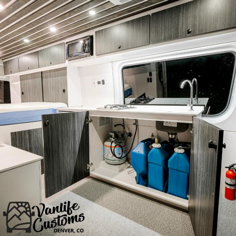 Vanlife Customs Sink Set Up Vanlife Vanlifecustoms Campervan