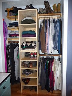 Closeted Organizationalists Small Room Bedroom Closet