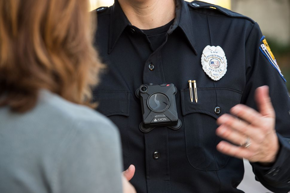 Police Hear A Pitch For Free Body Cameras With A Side Of Ai Body Worn Camera Police Facial Recognition