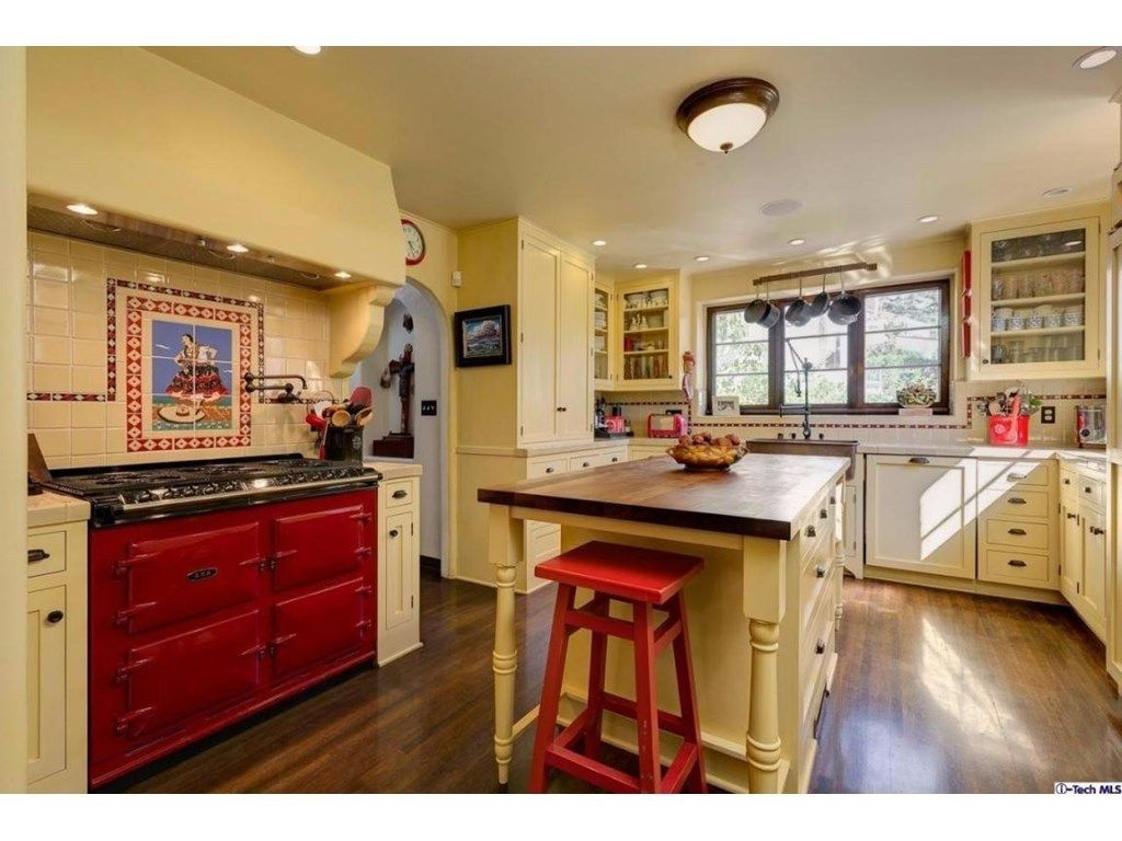Updated kitchen maintains Spanish Revival style in Southern ...