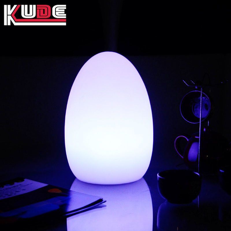 Rechargeable Color Change Egg Led Table Lamp Ledcolorchangingtablelamp Colorchanginglamp Ledtablelamp Colourledtabl Led Table Lamp Lamp Color Changing Lamp