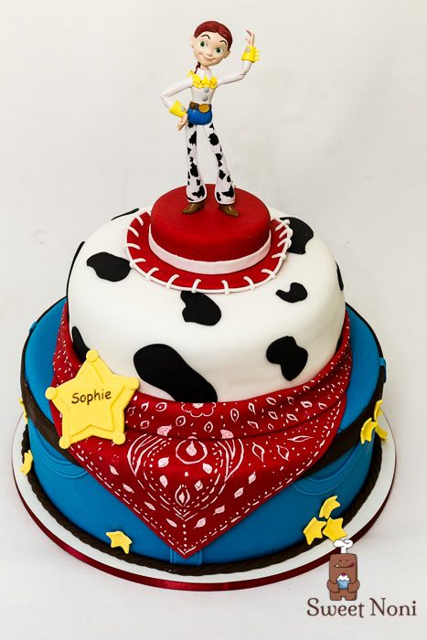 Jessie Toy Story Cake Party Tortas En 2019 Pinterest