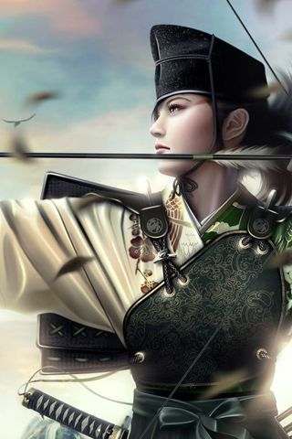 Abstract Iphone Wallpaper Mariusz Dabrowski Blog Anime Warrior Girl Warrior Girl Archer Female Best anime warrior hd wallpaper
