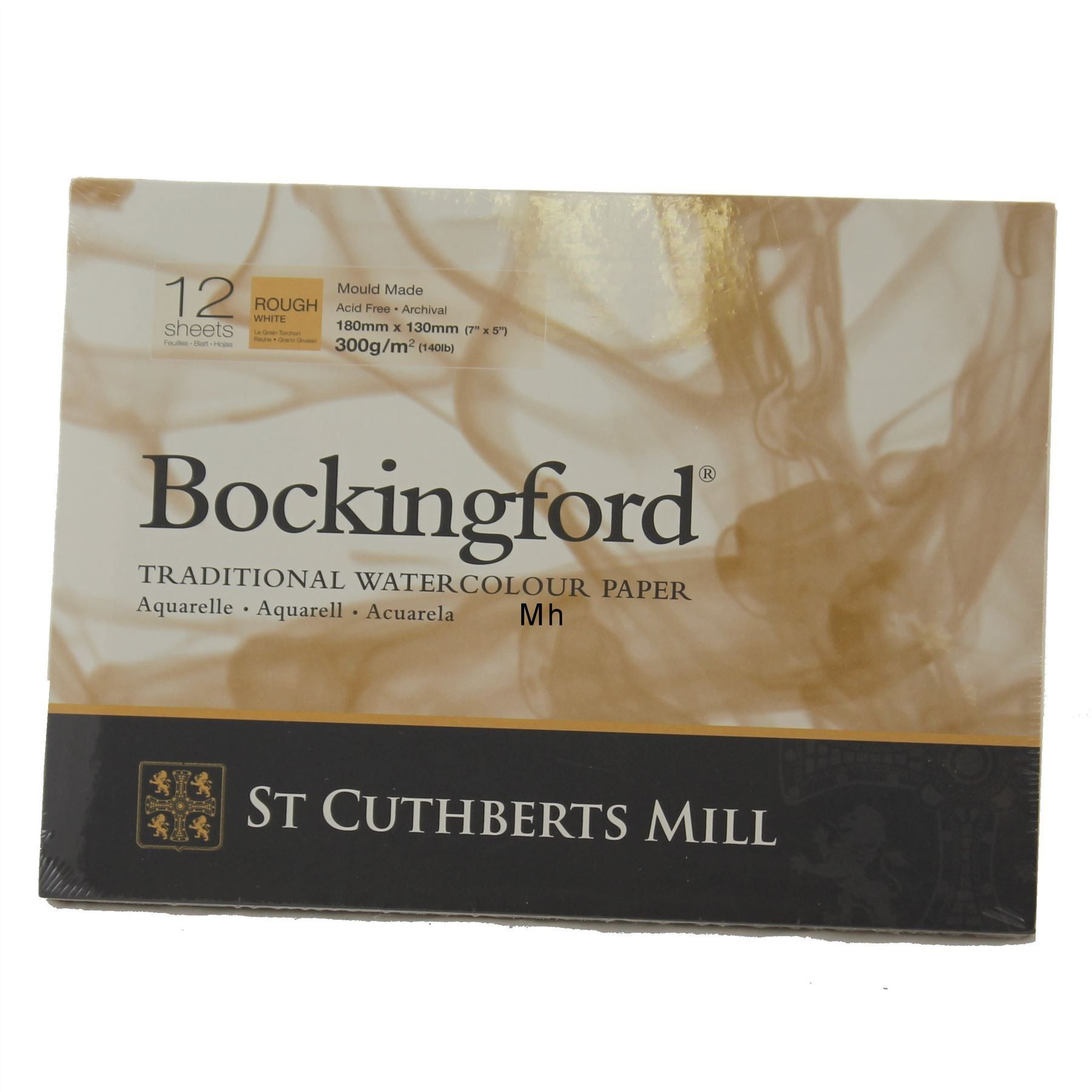 Bockingford Watercolour Pad Glued Paper 12 Sheets 7 X 5 Rough