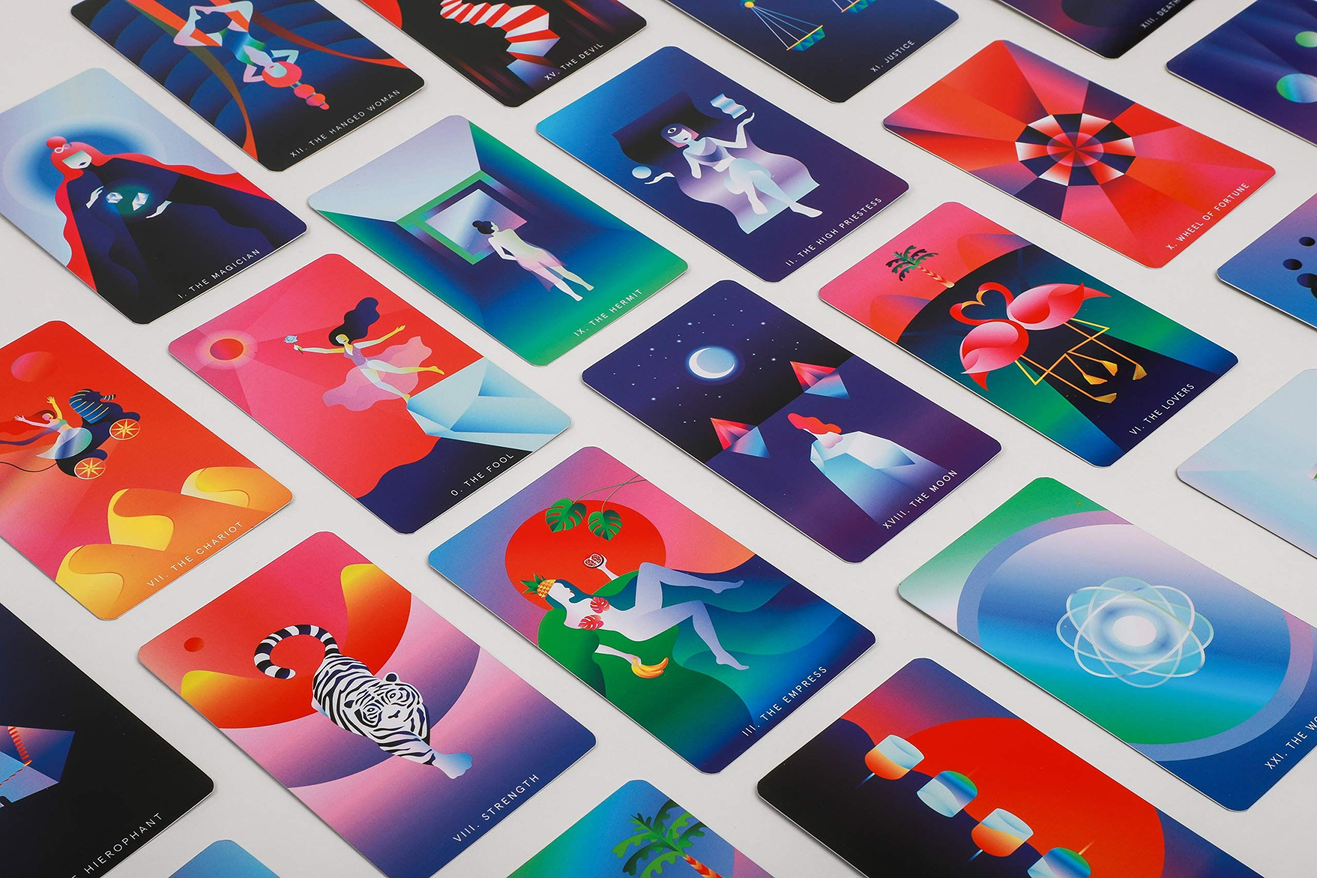 Mystic Mondays Tarot A Deck For The Modern Mystic Grace Duong Tarot Decks Tarot Card Decks Tarot