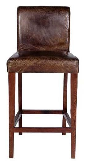 Distressed Leather Bar Stool Item Bs00823 20 W X 20 D X 44 H 30 Seat Height Rustic Bar Stools Bar Stools Leather Bar Stools