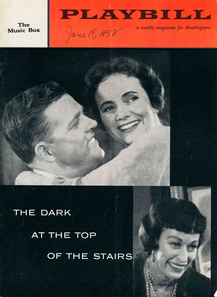 The Dark At The Top Of The Stairs Teresa Wright The Darkest Top Of The Stairs