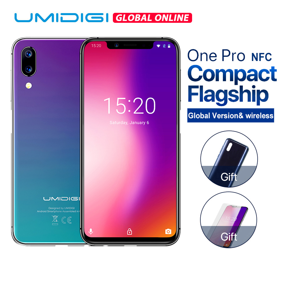UMIDIGI One Pro Global Version 5.9 12MP+5MP Dual 4G mobile phone wireless Deals - PhoneSep.com