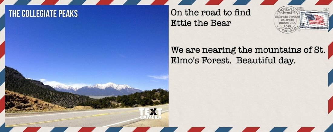 We are just outside Beautiful Buena Vista, CO.