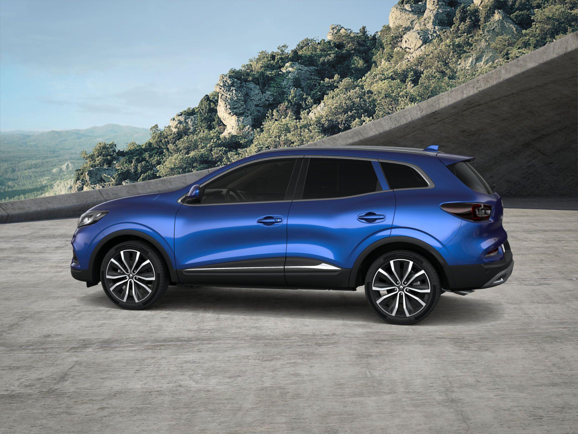Renault Kadjar 2019 Blue Iron