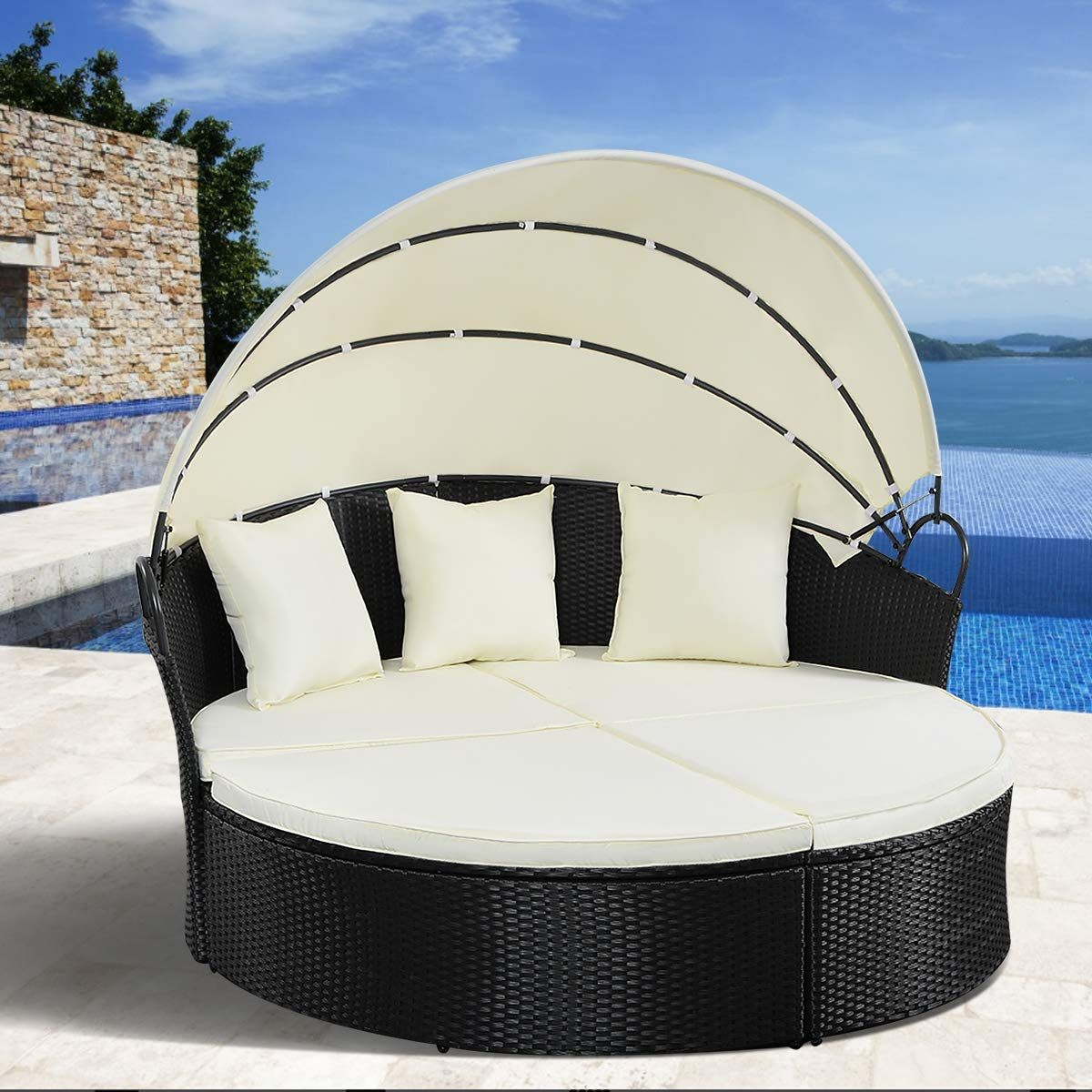 - Outdoor Wicker Daybeds & Rattan Patio Daybeds In 2020 Outdoor