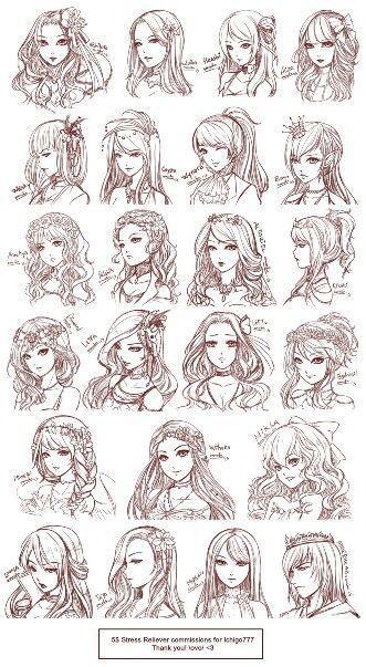 Photo of Anime girl hairstyle | Anime hairstyle Pinterest | Anime woman