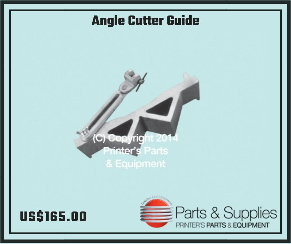 Book Clamps Trimming Guide For Cutter Back Gauge #46 Bindery Parts Set of 2