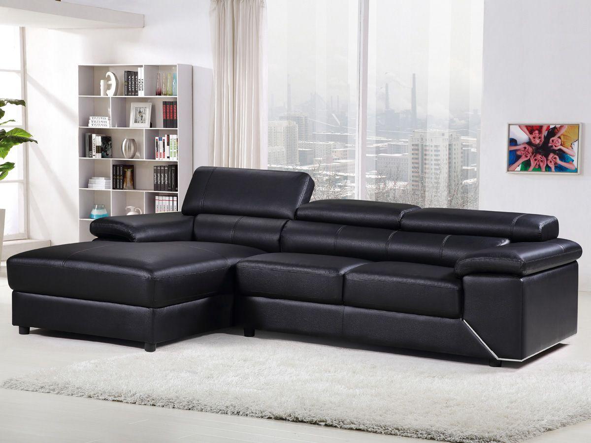 Canape D Angle En Cuir London 4 Places Pas Cher Soldes Canape Conforama Bon Shopping Com Home Decor Home Sectional Couch