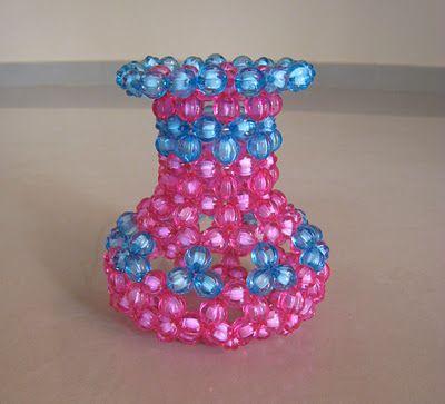 Pinterest & beaded flower vase | Creative | Flower vase making Vases ...