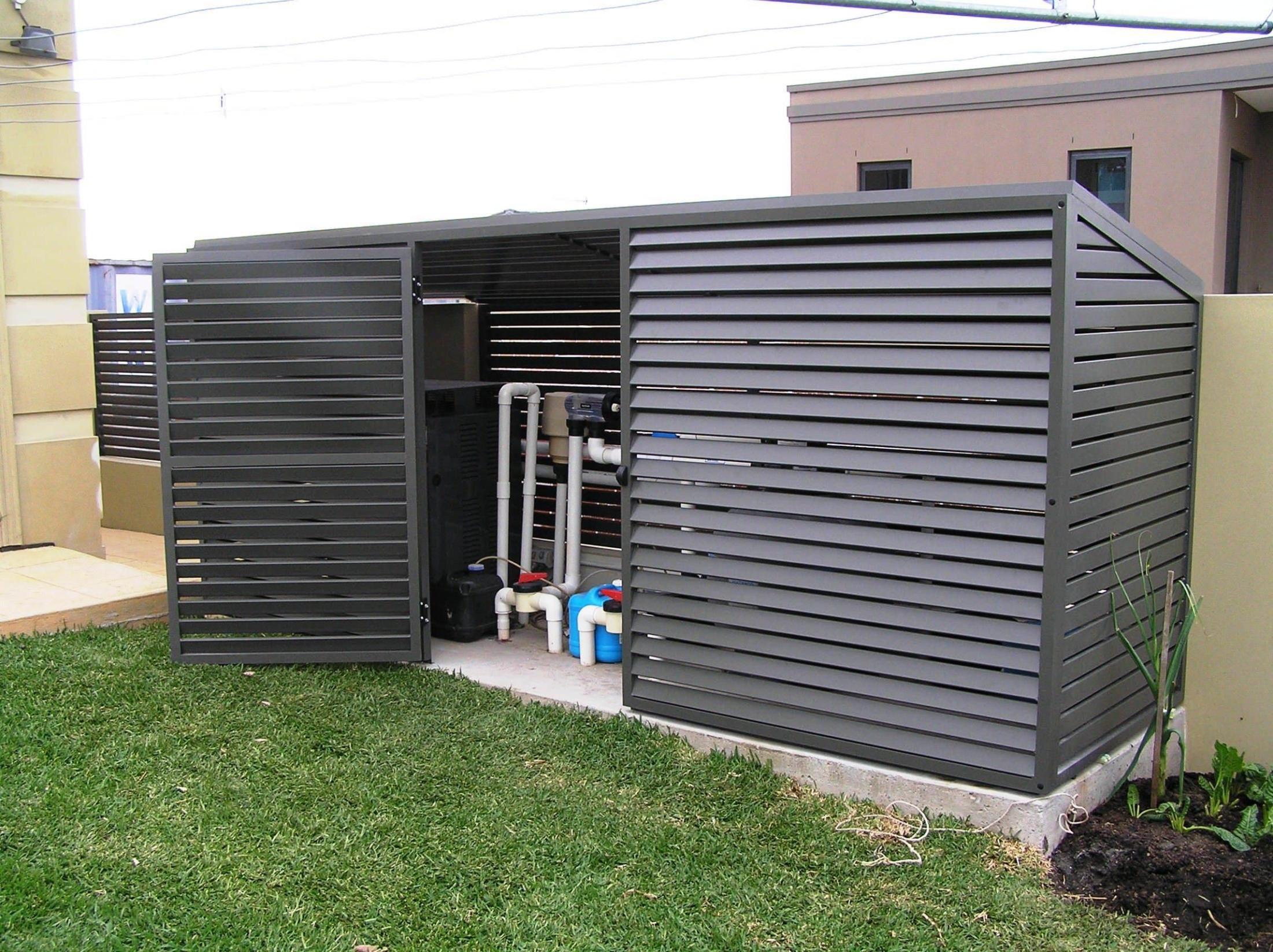 Pool Pump Enclosure Pool Shed Pool Equipment Cover Pool Equipment Enclosure