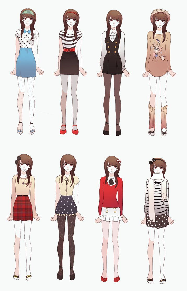 My Outfits By Dragons Roar On Deviantart Cute Winter Outfits Anime Inspired Outfits Anime Dress