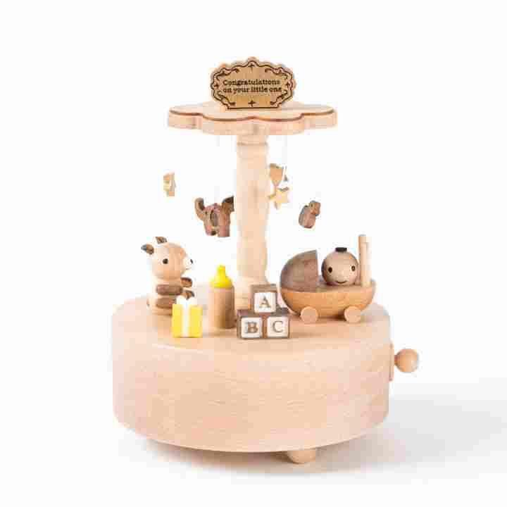 Baby Toys Wooden Music Box  6c734cd0c701