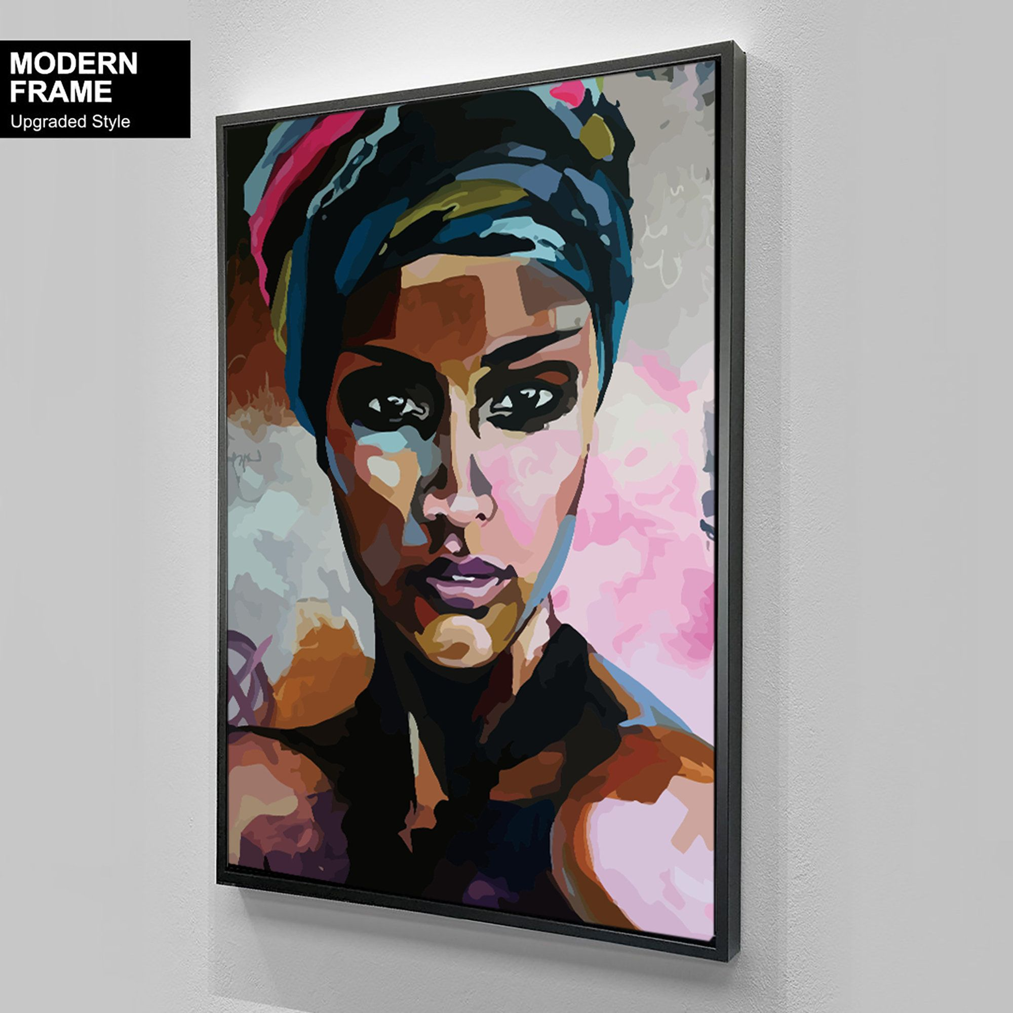 African American Woman Art1 Beauty Woman African Art Black Etsy African American Art Art Abstract Canvas Painting