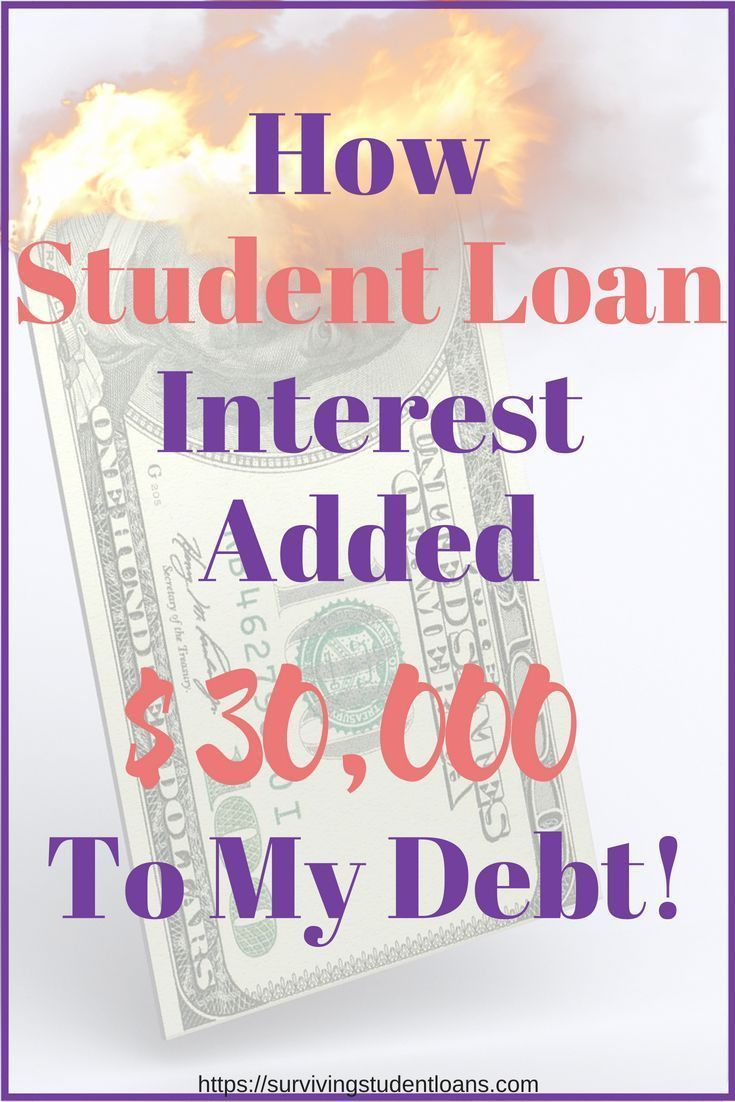 How student loan interested added 30k to my debt