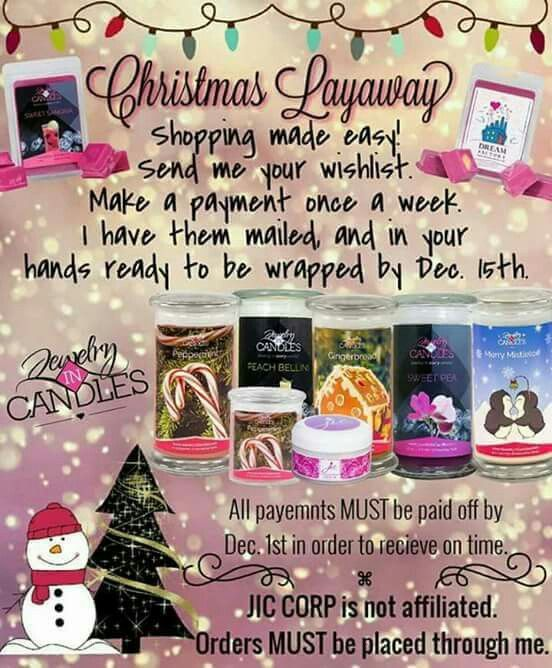 Three months until Christmas and still plenty of time to order. What bonus do u want to place an  order.  If I approve just pm me your order number.  For my birthday Sunday I'm asking my customers what bonus they would like yo place an order by Friday evening.  Check out my store,  free to join and try us out.  I would love to have u on my team.  Www.jicnation.com/store/missysue