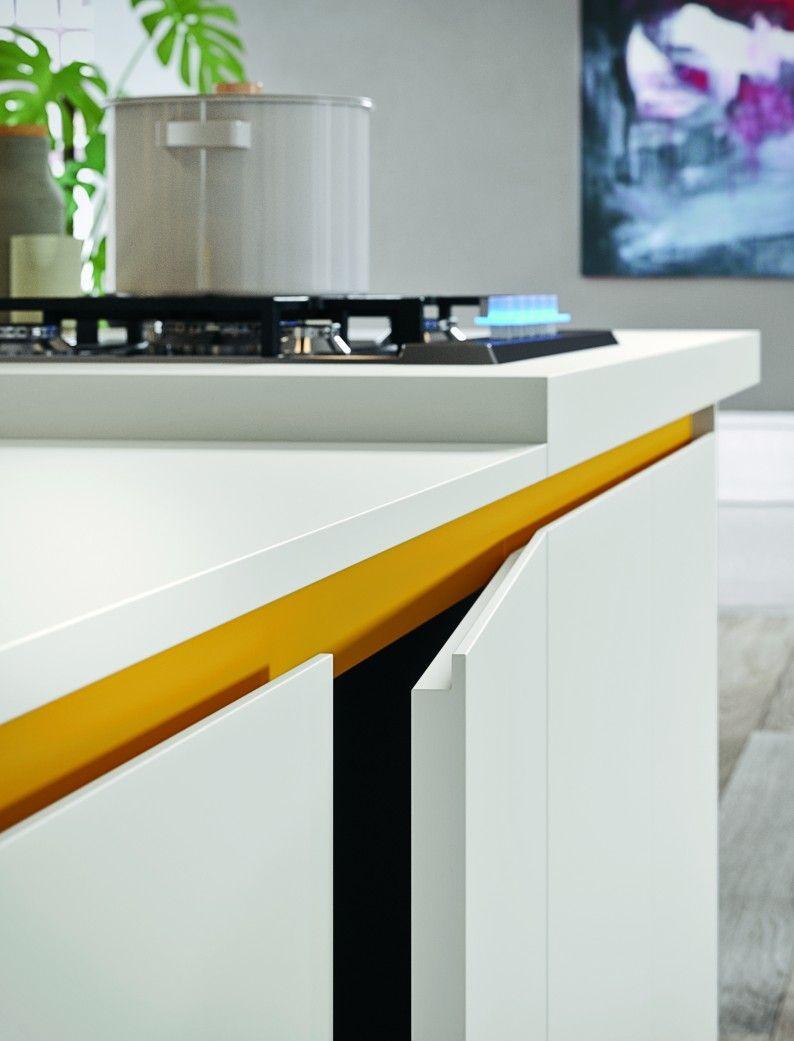 Arrital cucine - Ante cucina maniglia step | Kitchen | Pinterest ...