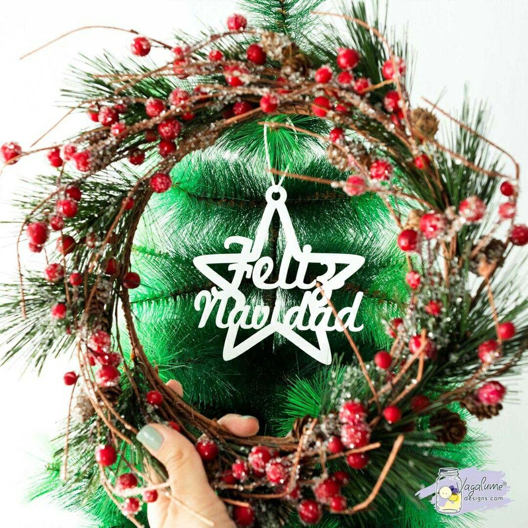 Sabías Que Puedes Poner Cualquier Texto O Mensaje Que Quieras En Nuestra Estrella Feliz Navidad Pue Guirnalda De Navidad Feliz Navidad Adornos De Navidad