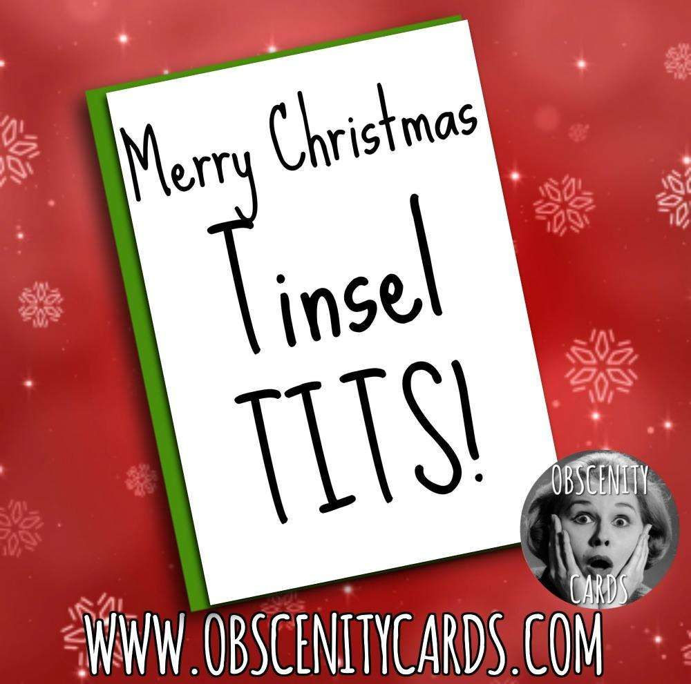 Obscene funny offensive CHRISTMAS cards by Obscenity cards. Obscene ...