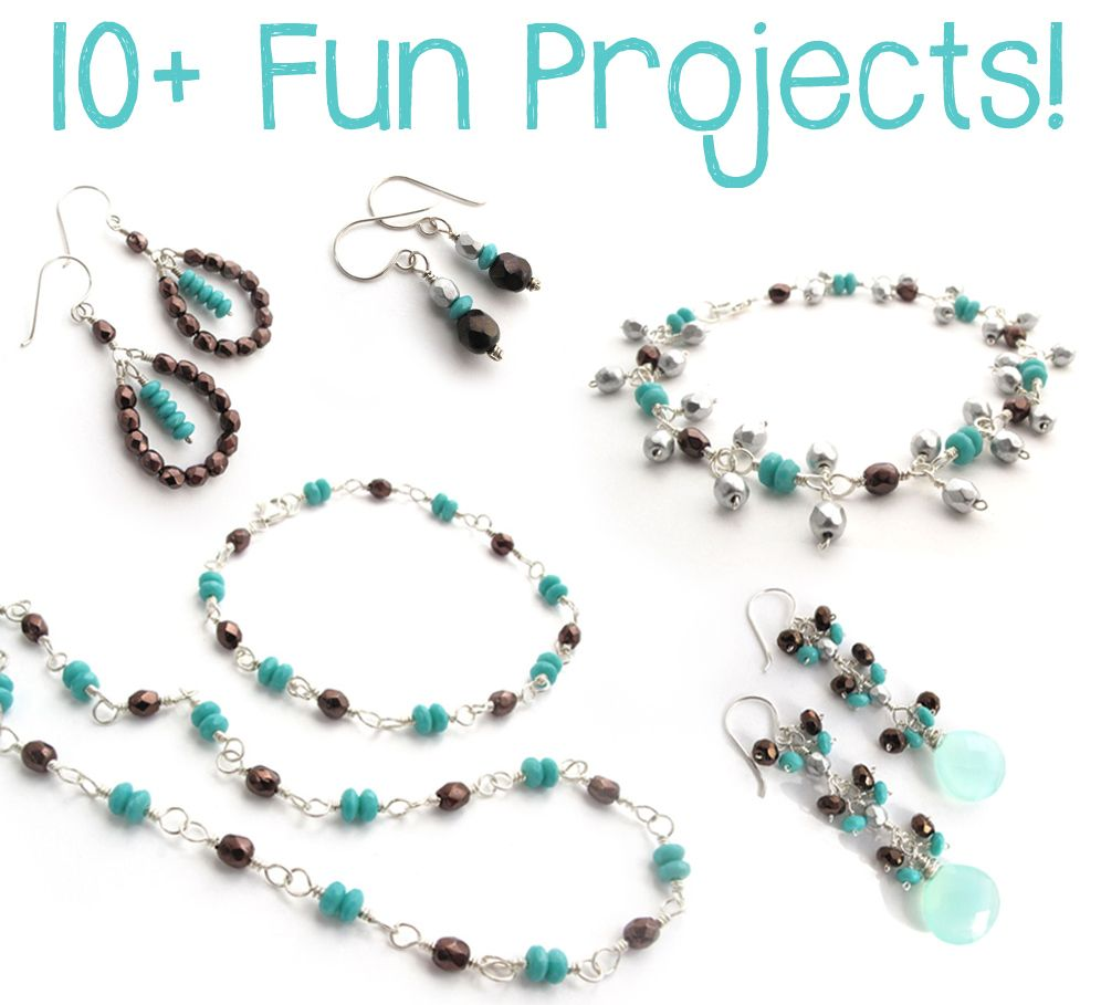 Jewelry Making - Wire Wrapping for Beginners | BRACELET | Pinterest ...