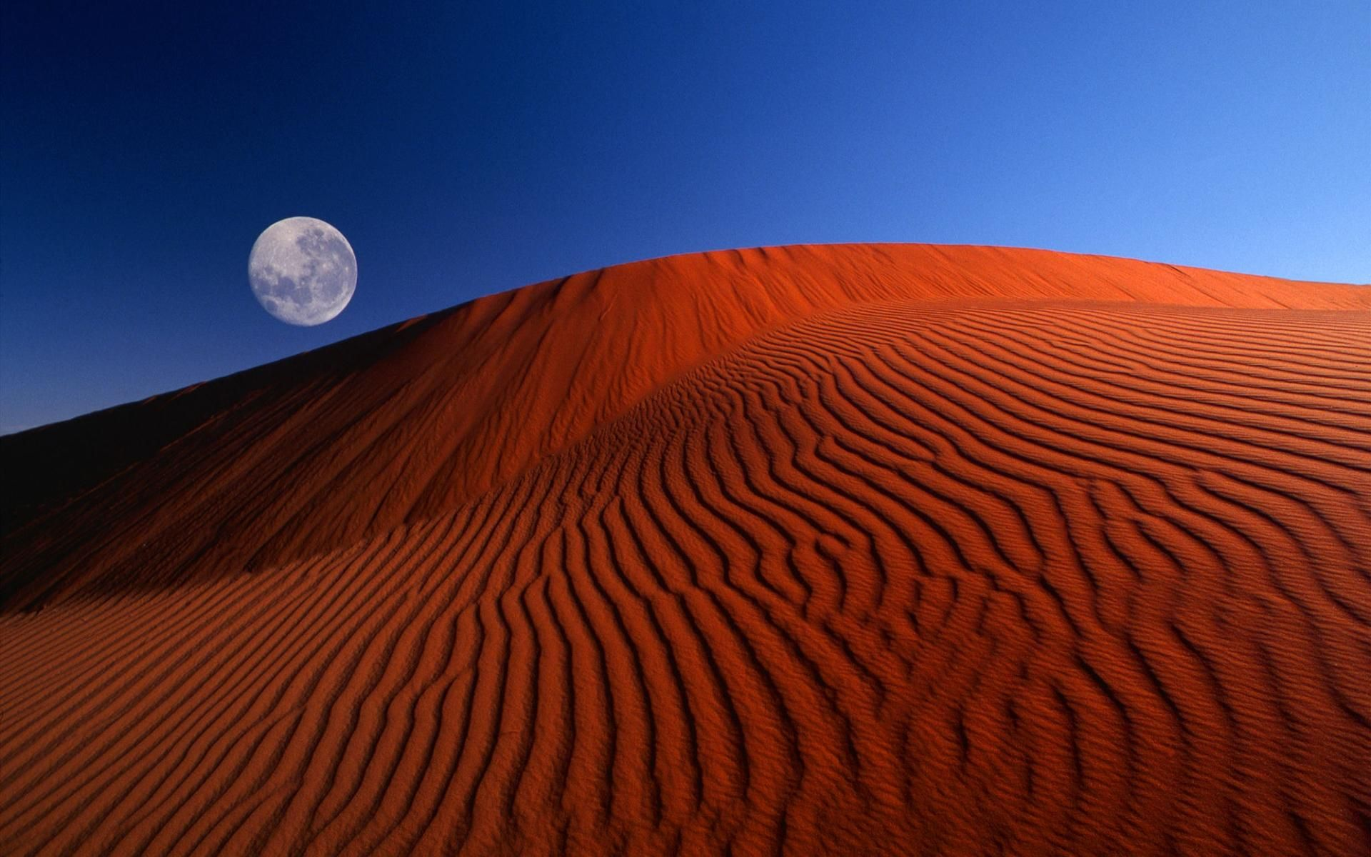 Red Moon Desert [1920x1200] Nature photography, Earth