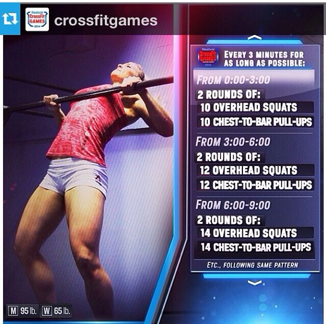 2014 Crossfit Games Open Workout 14 2 Crossfit Workouts Crossfit Games Crossfit Games Open