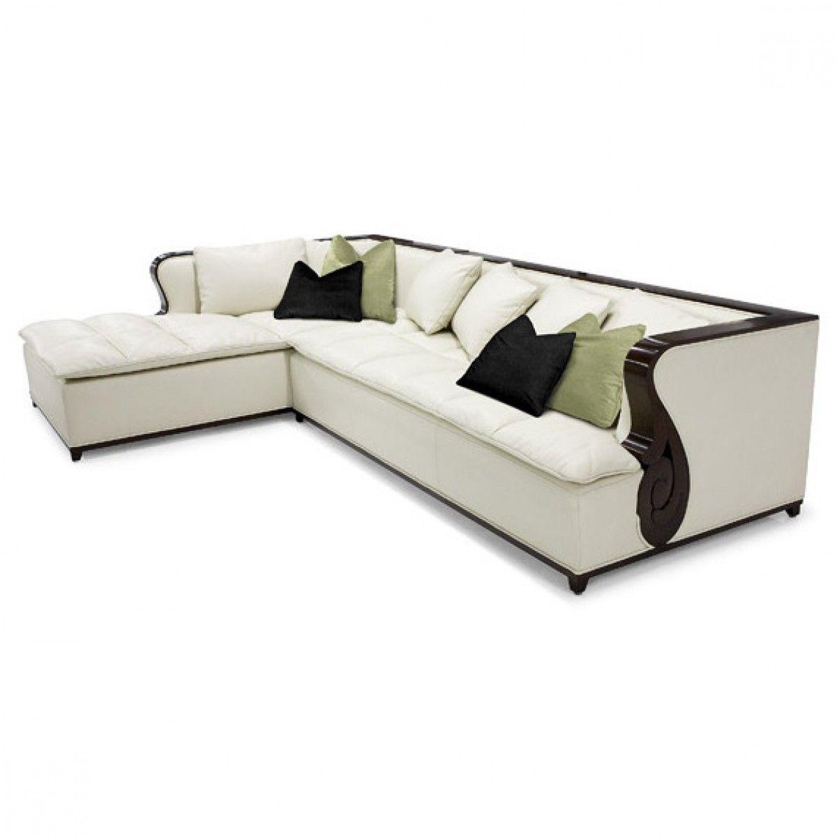 Christopher Guy The Hepburn Sectional Sofa · Art Deco ...