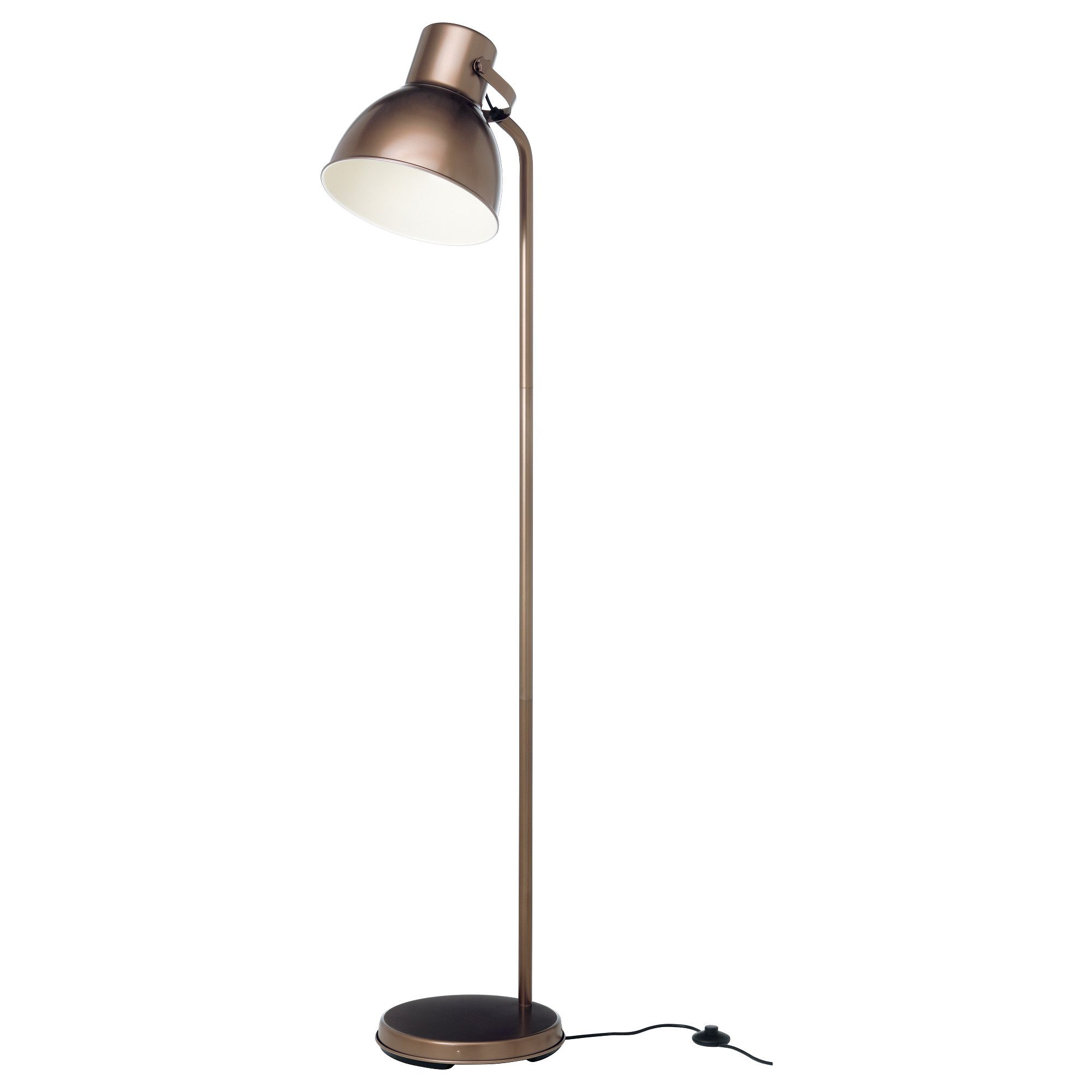 love this copper Ikea lamp. Got it for my living room. HEKTAR ...