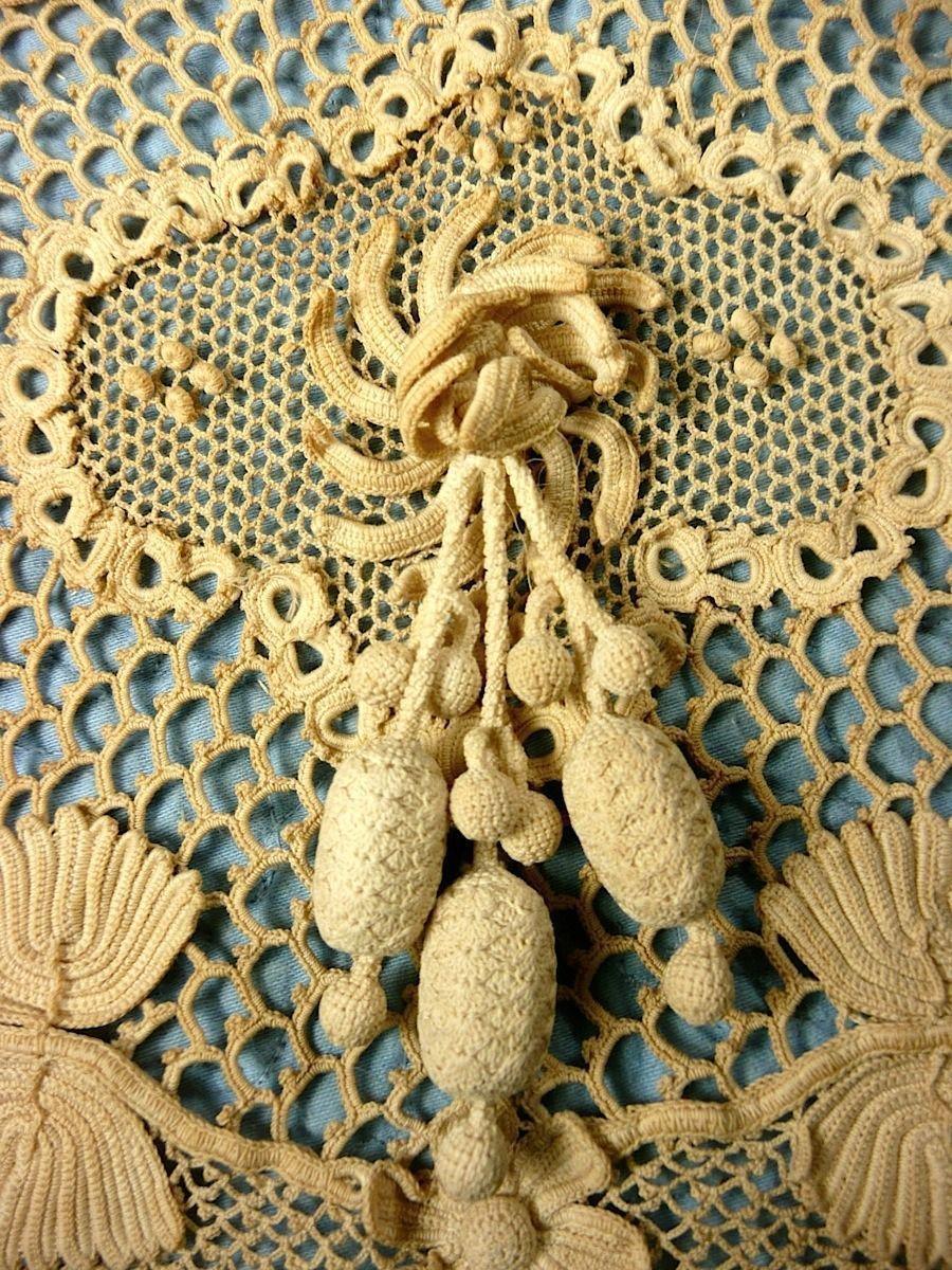 Amazing Vintage Antique Irish Crocheted Collar   eBay