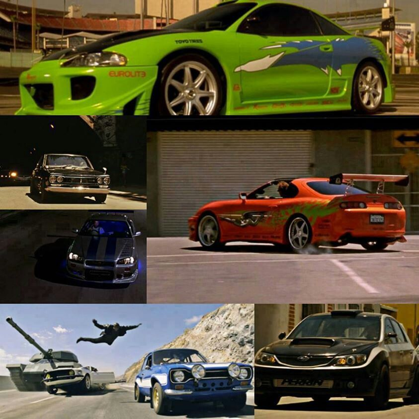 The Fast And The Furious Cars Brianoconner Toyotasupra