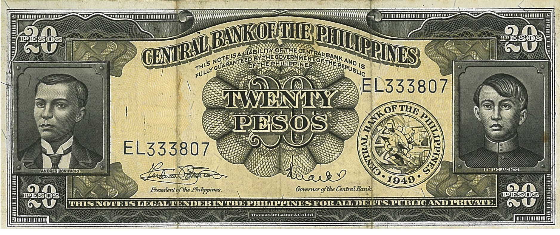 BSP Notes & Coins
