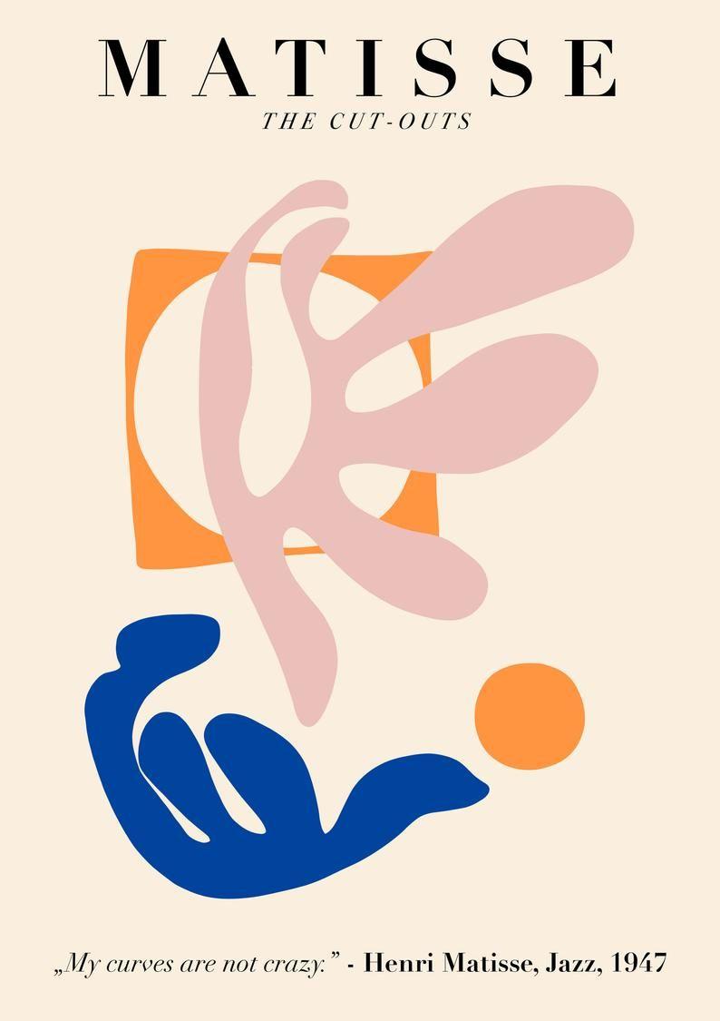 Henri Matisse Art Exhibition Poster Matisse Art Print Etsy In 2020 Art Exhibition Posters Matisse Art Exhibition Poster