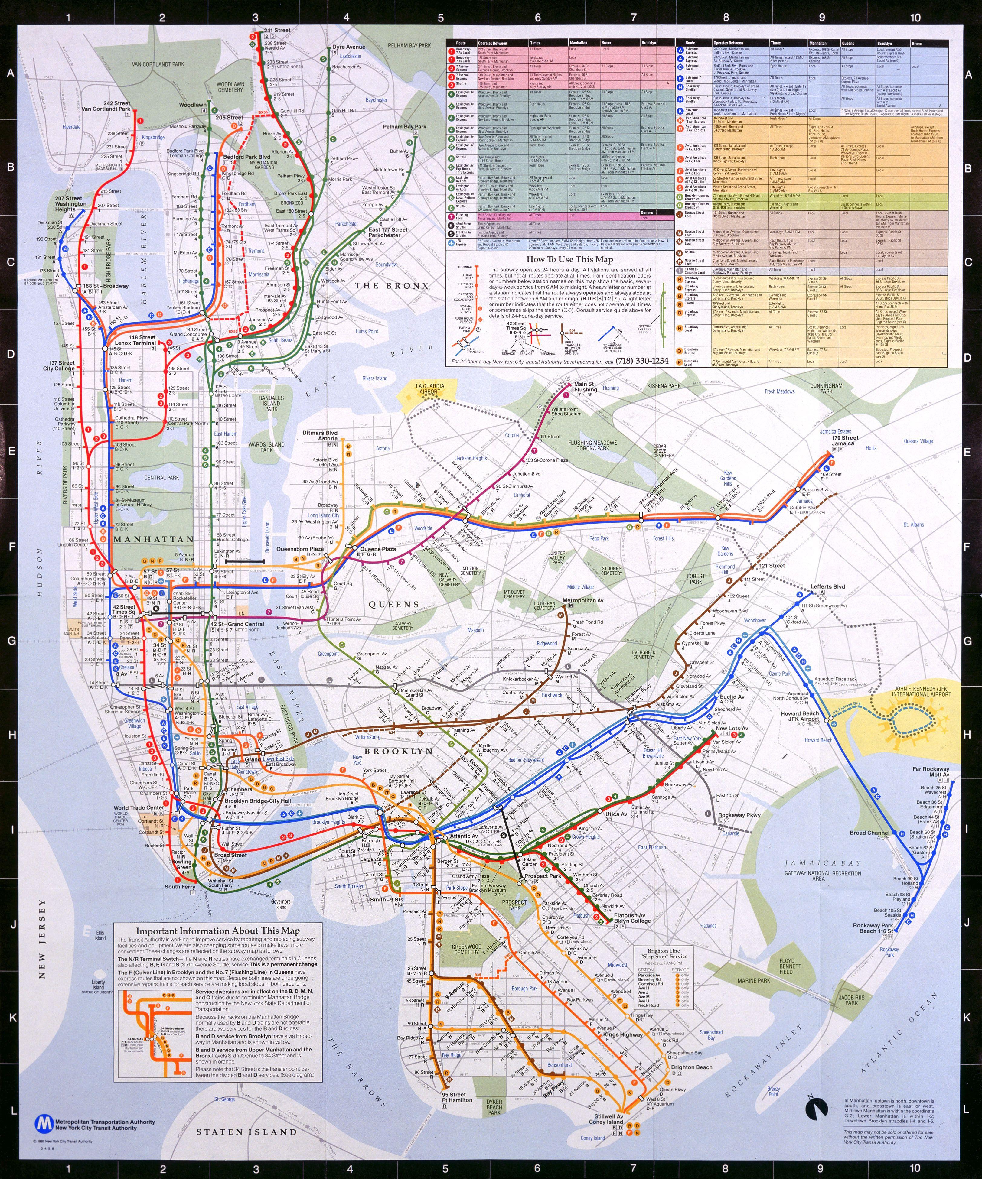 Chatham Square Subway Map.Ny Subway Map From 1979 The Art In Ny Transit System Subway Map